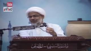 المأتم فيه:(مستمعه-خدام الحسين(ع)-الملا-الشيخ-رئيس المأتم) وكل واحد منهم يهين الثاني-شيخ هاني البناء