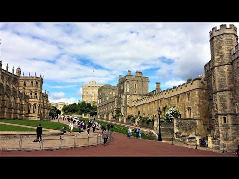 Windsor Castle & Town of Windsor, England