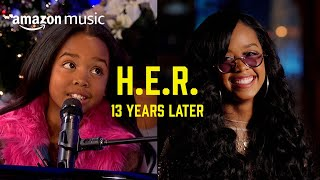H.E.R. - Same Interview 13 Years Later   Prime Day Show   Amazon Music