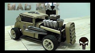 Как сделать игрушечную машинку из Картона/В стиле Безумного Макса/Корпус на RC модель своими руками