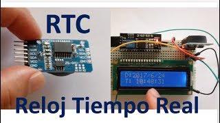 que es un reloj de tiempo real rtc como se usa