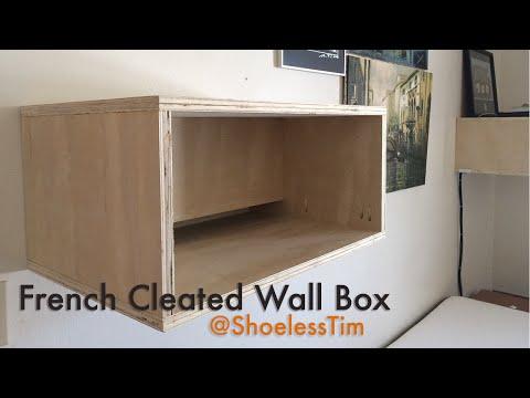 HFWW   French Cleat Wallbox