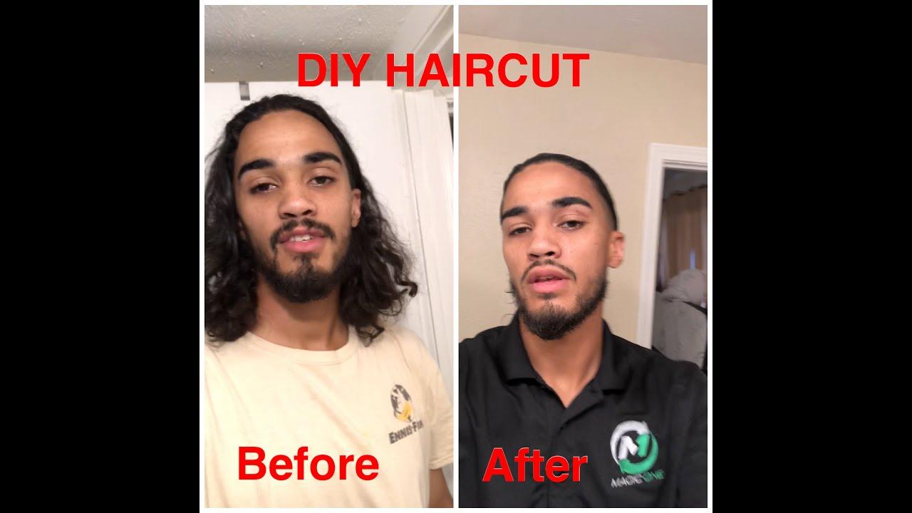Finally cut my hair off! (DIY HAIRCUT)