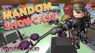 Mandom Showcase   Project JoJo