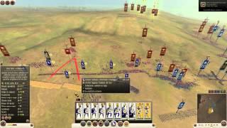 Total War: Rome 2 - Battaglia online #14 -[LIVE] 3v3 ODIO IL LAG! [HD]