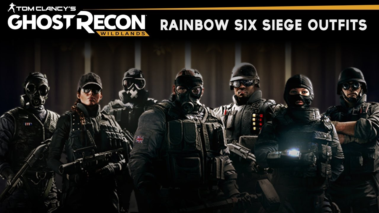 Ghost Recon and Rainbow Six team up for Wildlands Special ... |Ghost Recon Rainbow Six