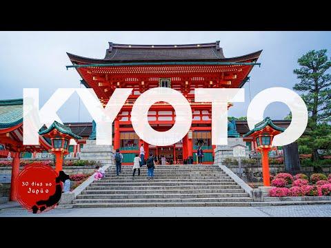 🎌 Visitamos KYOTO - a segunda capital do Japão com mais de 1600 templos e ficamos apaixonados