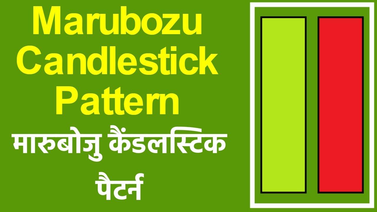 Marubozu candlestick pattern in hindi technical analysis youtube also rh