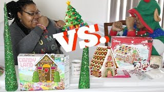 GINGERBREAD HOUSE CHALLENGE 2017 (SISTER EDITION)