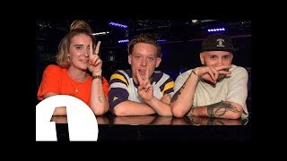 Fickle Friends - Feels (Calvin Harris cover) - Radio 1's Piano Sessions