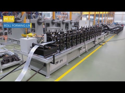 Solar Panel Structures Roll Forming Line