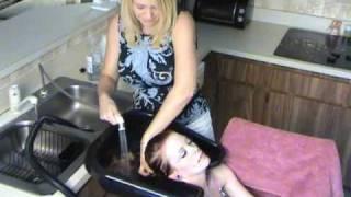 (SAMPLE) Washing Kaila's Hair