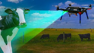 This drone helps cows stay alive