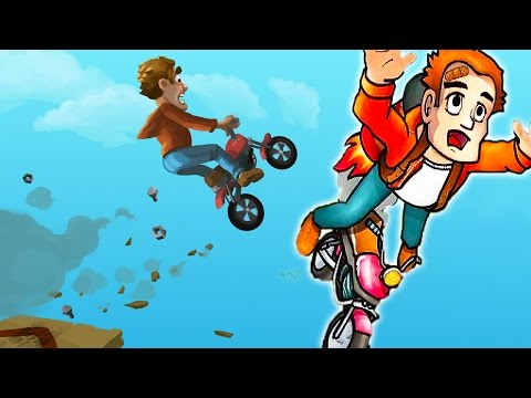 Fail Hard #2 Игровой мультик про машинки и мотоциклы для детей. Как мультик про гонки на Мотоциклах.