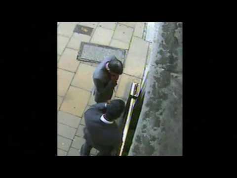 Jewellery heist CCTV footage