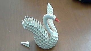 How To Make 3d Origami Small Swan (model 2)