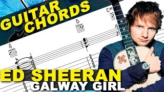 Galway Girl | Ed Sheeran | How To Play | Guitar Lesson | CHORDS