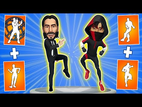 🎮What happens if mix two Fortnite dances in one #5. Scenario dance + Smooth Moves emote.