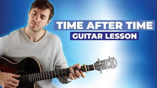 Time After Time (Eva Cassidy) Guitar Lesson - A Great Song for Intermediate Fingerpickers