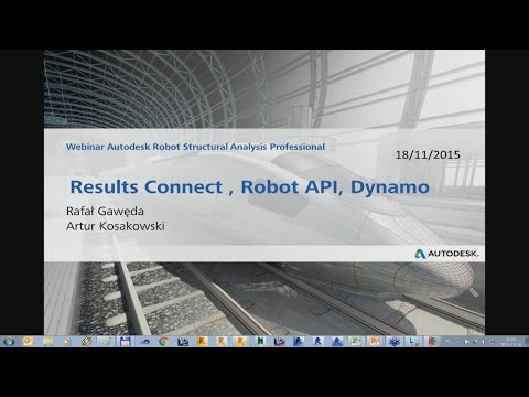 Results Connect , Robot API, Dynamo