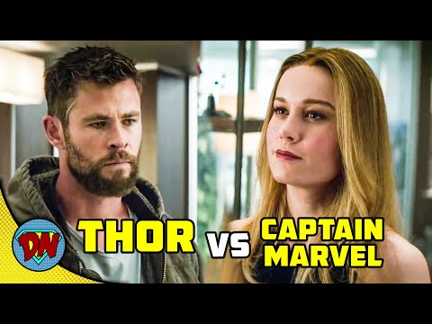 Thor vs Captain Marvel - Who is Stronger | Explained in Hindi