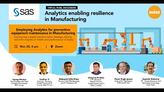 Analytics enabling resilience in Manufacturing | Episode 2