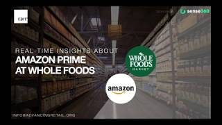 Sense360 Exclusive Report: Real-time Insights about Amazon Prime at Whole Foods