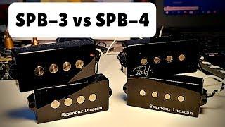 Seymour Duncan SPB-3 vs SPB-4
