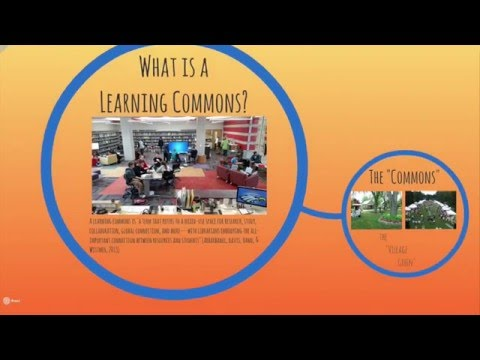 Library Learning Commons: Benefits, Challenges, and Charactersitics