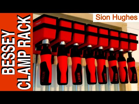 How to make a simple clamp rack