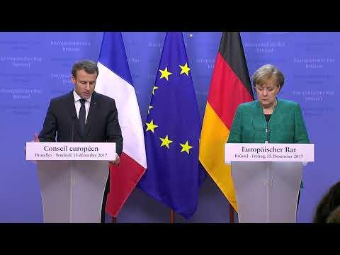 European Council : Conférence de presse