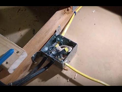 Garage Lighting Project P5: Wiring to Attic Junction Box on