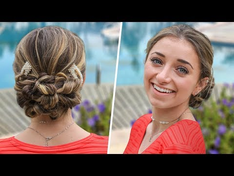 brooklyn's-easy-prom-hairstyles-|-flipped-ponytail-updo
