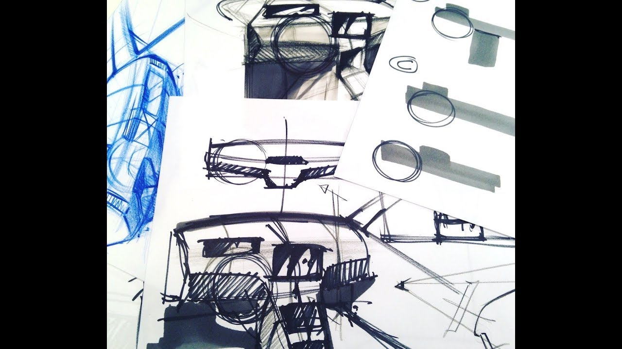 Car Sketch Tutorial P15 Drawing Car Interiors P2