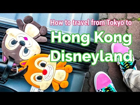 How to Travel from Tokyo to Hong Kong Disneyland | DISNEY ASIA TRAVEL GUIDE