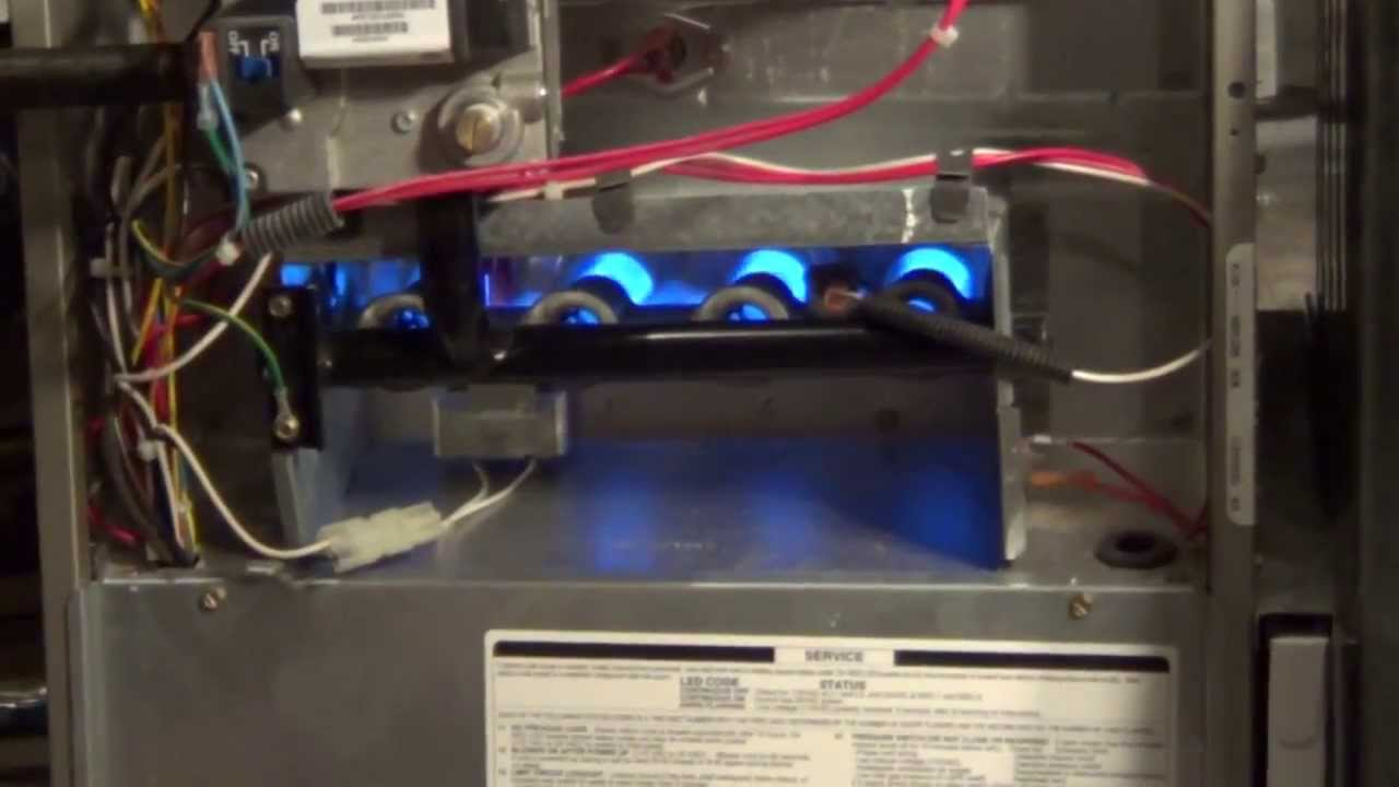 Furnace Cycling On And Off Flame Sensor Cleaning