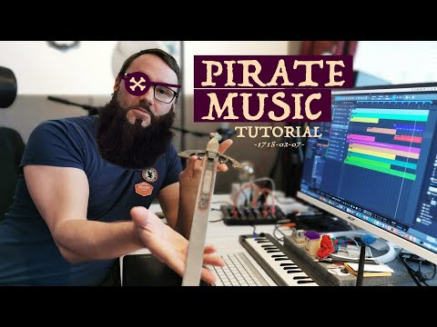 How to Compose Pirate Game Music | Studio One 4.6 Tutorial