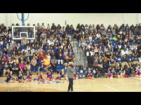 South Dade Senior High School PEP RALLY WITH POWER96 Part 2