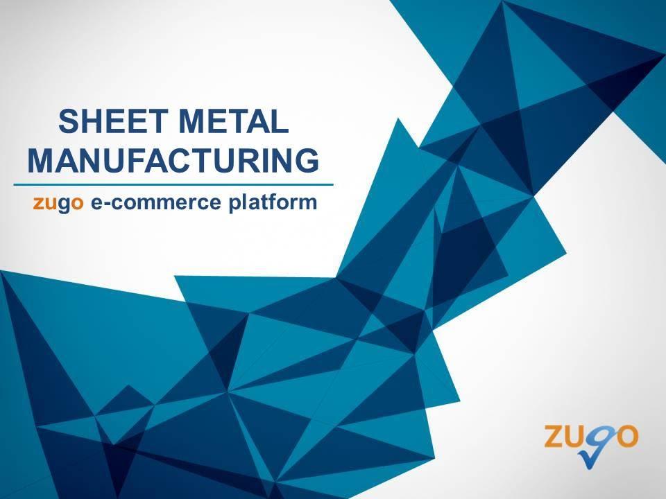 Sheet metal manufacturing - YouTube