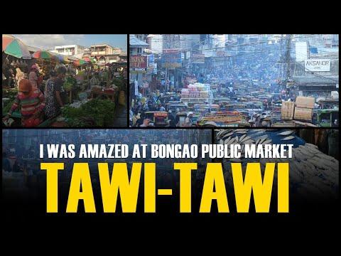 At Bongao Public Market in Tawi-Tawi