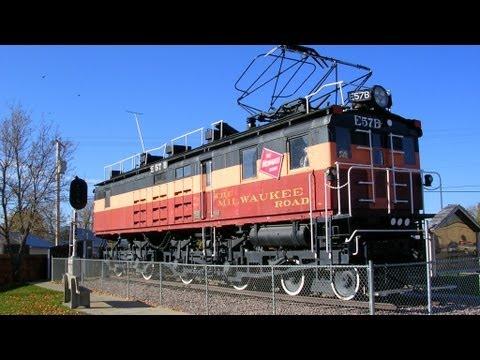 E57B Electric Locomotive - The Milwaukee Road - Harlowton, Montana MT