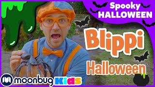 Blippi | Blippi Decorates a House For Halloween  | #Halloween |  Educational Videos for Kids