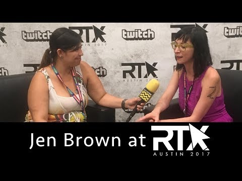 Jen Brown Talks RWBY, Day 5, Women In Caskets & More!  RTX 2017