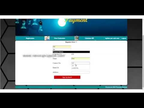 Electricity Online Bill Payment Project