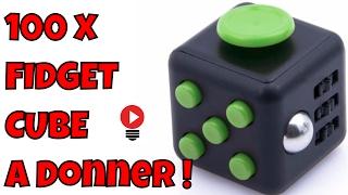 100 x Fidget Cube a Donner Francais Couleur Disponible  habitude TDAH Focus Review ThinkUnBoxing 4k