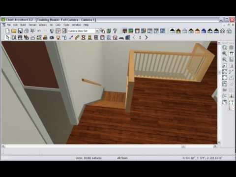 chief architect stairs youtube. Black Bedroom Furniture Sets. Home Design Ideas