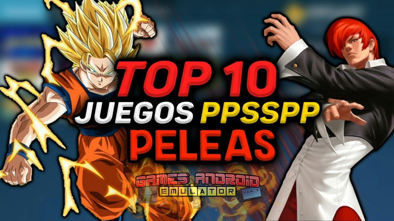 Top 10 Mejores Juegos Ppsspp De Peleas Links De Descarga Por Mega