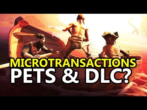 Sea of Thieves - News On DLC, Loot Crates, Microtransactions & Pets // Xbox One & PC News
