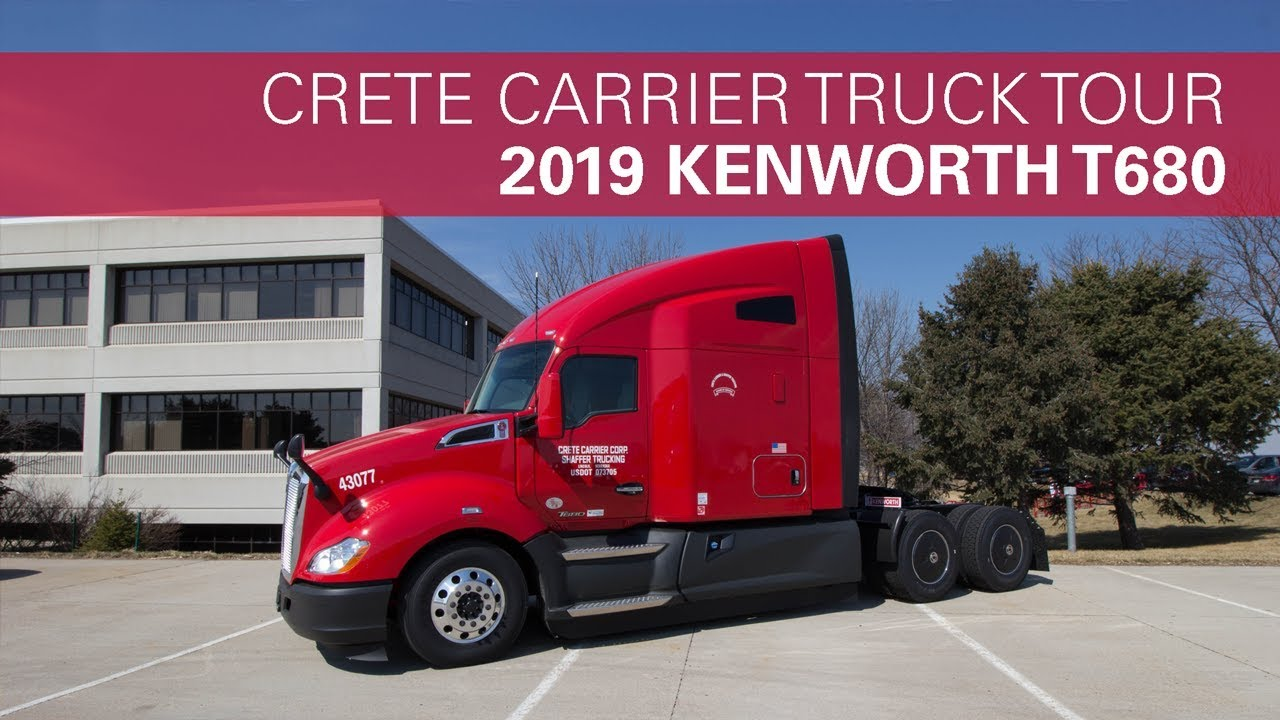 2019 Kenworth T680 Truck Tour
