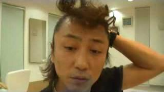 one's own ヘアースタイル講習会。 ソフトバンクのCM、木村拓哉風のヘ...